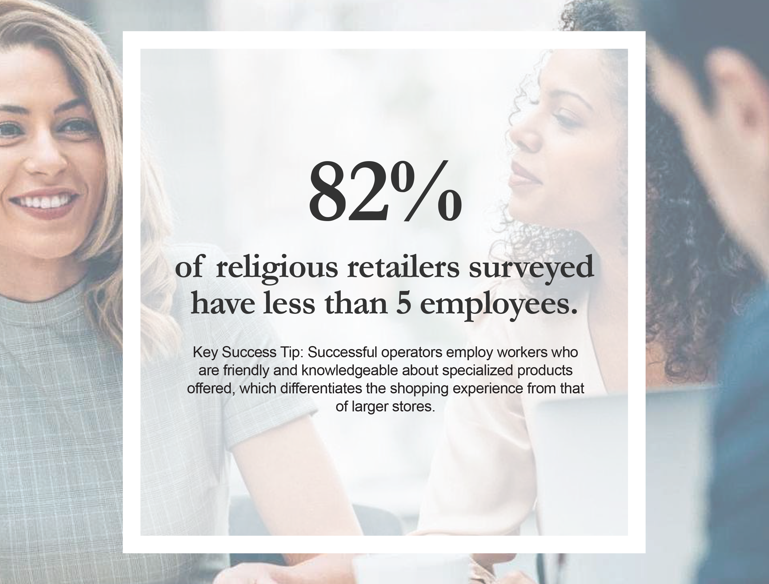 McVan religious retailers stat